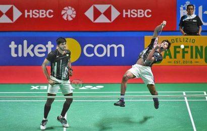 Satwik & Chirag bow out
