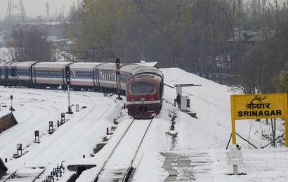 Trains to run again in Kashmir Valley