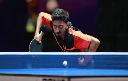 Sathiyan in last-16 of ITTF men's world cup