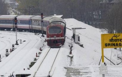 Rail services in Kashmir resume, mini buses on roads in valley