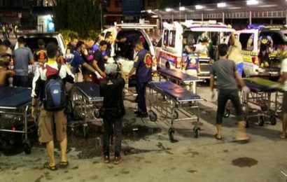 15 shot dead by insurgents in Thailand