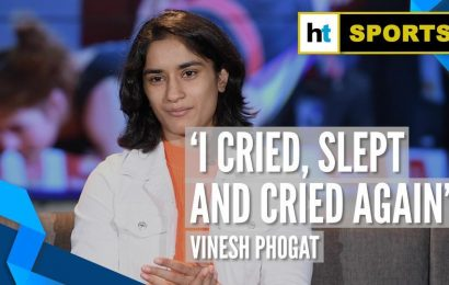 I cried, slept and cried again: Vinesh Phogat on Rio injury