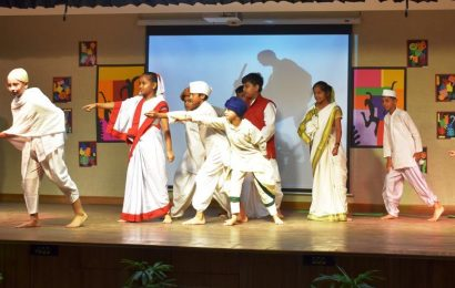 Tagore International School Delhi holds art, oratory and  tech festival