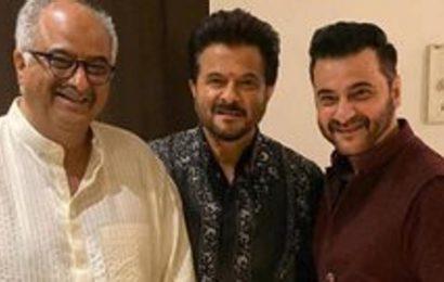 On Boney Kapoor's birthday, brothers Anil Kapoor, Sanjay Kapoor share heartfelt posts