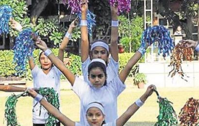 Chandigarh school events: Display of athletic skills at Saint Soldier school