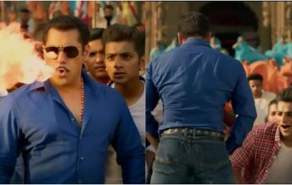 Dabangg 3 song Hud Hud: Salman Khan channels inner Drogon, flexes butt in his most over-the-top song yet. Watch