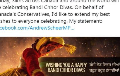 Faux pas: Canadian leader wishes Sikhs on Bandi Chhor, uses Kerala festival pic