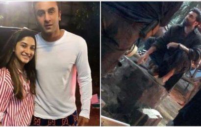 Shamshera: Ranbir Kapoor's look leaked again from sets. See pics