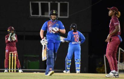 Shafali, Smriti shatter records as India thrash West Indies by 84 runs