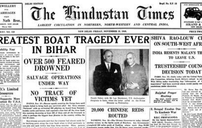 From the archives of the Hindustan Times: November 19