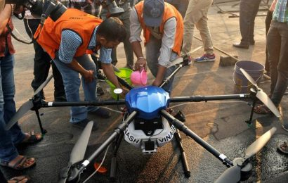 In Bengal, drones to collect samples, spray insecticides to combat dengue