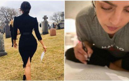 Priyanka Chopra compares her The White Tiger shoot prep to Quantico. See pics