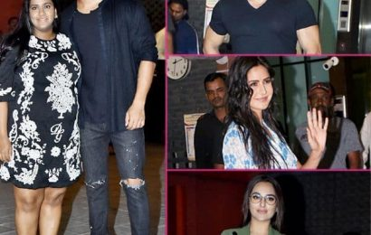 Salman Khan celebrates Sister Arpita Khan and Aayush Sharma's 5th marriage Anniversary with katrina kaif and other family members
