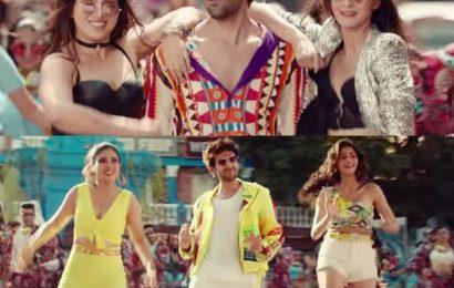 'Pati Patni Aur Woh' का गाना 'Ankhiyon Se Goli Mare' हुआ रिलीज, Bhumi और Ananya की अदाओं से घायल हुए Kartik Aaryan