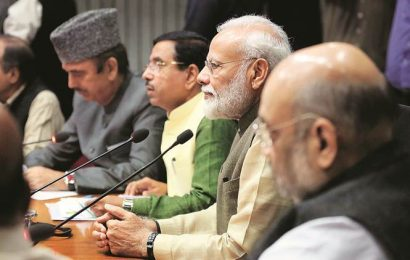 Let Farooq attend, Opposition tells PM at all-party meet before House session