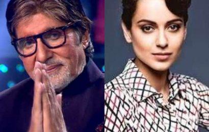 Kaun Banega Crorepati 11: Amitabh Bachchan calls Kangana Ranaut the 'no.1 actress' | Bollywood Life
