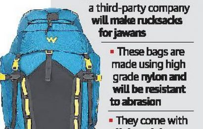 Wildcraft to make rucksacks for Army