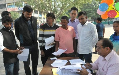 67 vendors at Chandigarh's Sec 17 plaza served relocation notices
