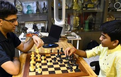 Data: Indian chess grandmasters becoming younger