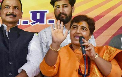 Pragya Thakur to be out of defence panel