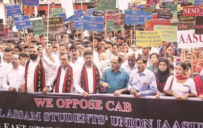 Protests in Northeast against citizenship amendment Bill