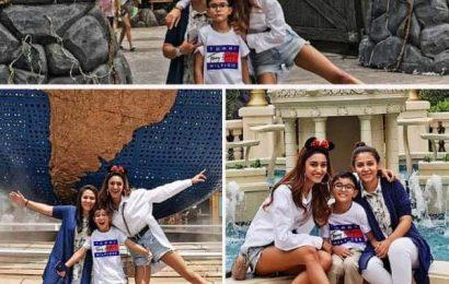 Singapore ट्रिप पर जमकर मस्ती कर रही हैं Erica Fernandes, सामने आई ये तस्वीरें
