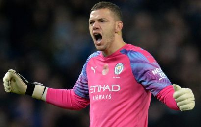 Manchester City goalkeeper Ederson out of Liverpool clash, says Pep Guardiola