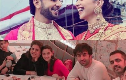 Pictures of Ranveer-Deepika's visit to Venkateswara Temple and Alia Bhatt's dinner date with Ranbir and mom Neetu Kapoor went viral this week | Bollywood Life