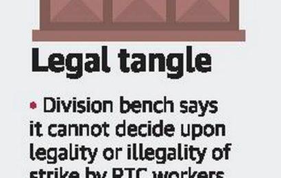 HC proposes high-powered panel on RTC strike