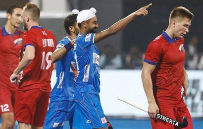 Olympic Qualifiers: Mandeep Singh's brace puts India in a firm position against Russia