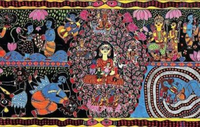 Bihar govt uses traditional paintings and murals to beautify Patna, raise awareness