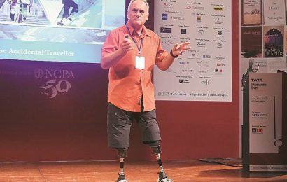 Mumbai: First double amputee to climb Mt Everest shares his journey at Tata Literature Festival