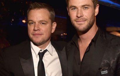 Matt Damon stepped on a python in Chris Hemsworth's home turf | Bollywood Life