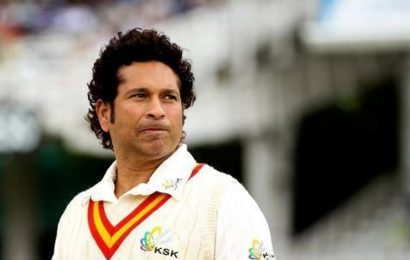 Sachin Tendulkar celebrates 30 years of international debut with cover drives and straight drives