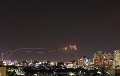 Israel strikes Gaza after 10 rockets fired at south Israel