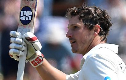 New Zealand vs England: BJ Watling scripts history against England in 1st Test