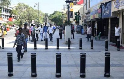 Pondy Bazaar stretch is now a pedestrian-friendly plaza