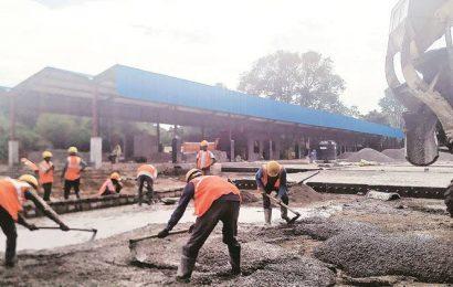 Heavy rain over last few months delays MSRTC bus stand work