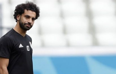 Mohamed Salah out of Egypt games with ankle problem