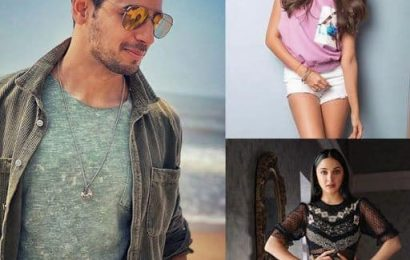 """""""I fall in love with all the actors,"""" says Sidharth Malhotra on his relationship rumours with Tara Sutaria and Kiara Advani 