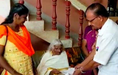 105-year-old granny from Kerala becomes 'oldest learner' appears for Class IV examination