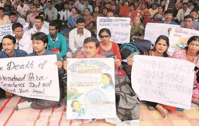 West Bengal: Will intensify stir if demands not met, say para teachers