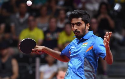 G Sathiyan bows out of TT WC Round of 16