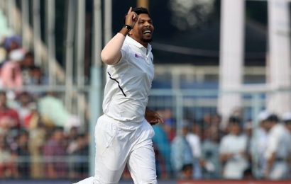 Can't help negativity from creeping in when you sit out: Umesh Yadav