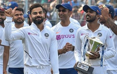 India becomes first team in history to win four consecutive Tests by an innings margin