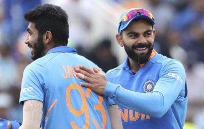 ICC ODI Rankings: Virat Kohli, Jasprit Bumrah retain top spots