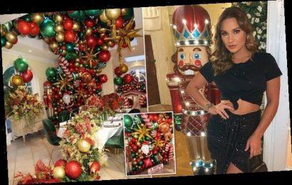 Inside Sam Faiers' VERY extravagant Christmas decor