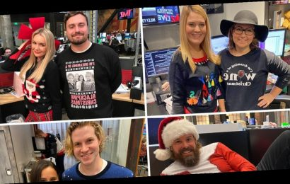 TMZ Staffers Flaunt Their Finest Ugly Holiday Sweaters