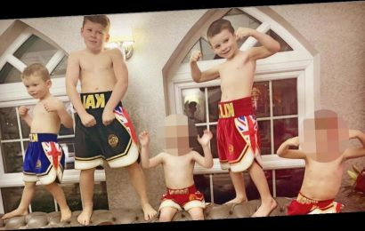Coleen Rooney posts hilarious photo of sons bringing new meaning to Boxing Day