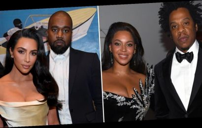 All Is Well: Beyoncé and JAY-Z Reunited With Kim and Kanye at Diddy's 50th Birthday Party